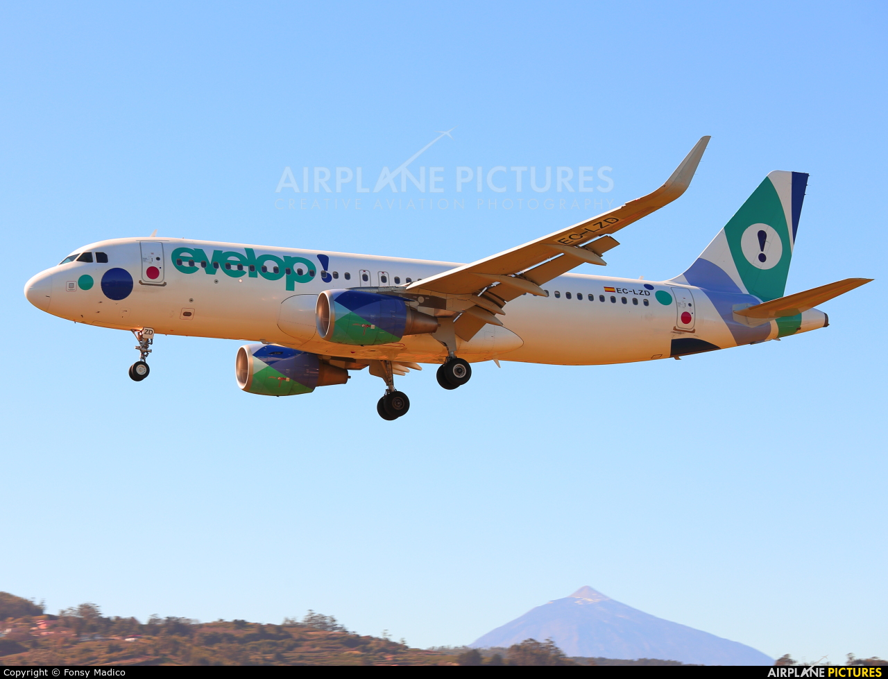 Evelop EC-LZD aircraft at Tenerife Norte - Los Rodeos