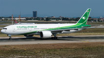 YI-AQZ - Iraqi Airways Boeing 777-200LR aircraft