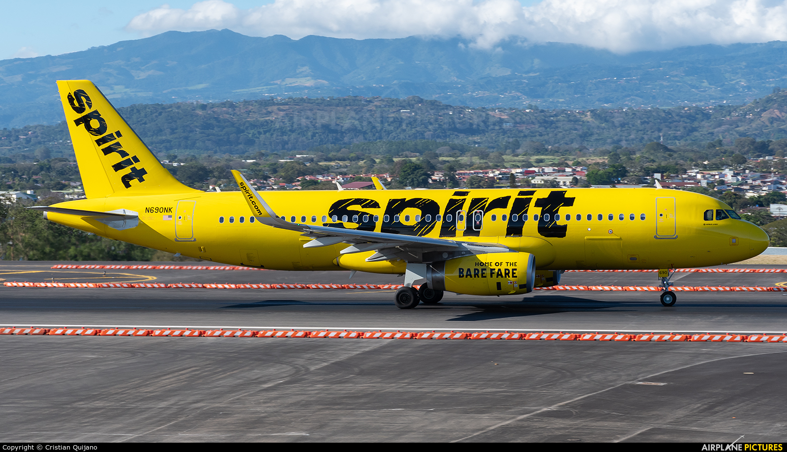 Spirit Airlines N690NK aircraft at San Jose - Juan Santamaría Intl