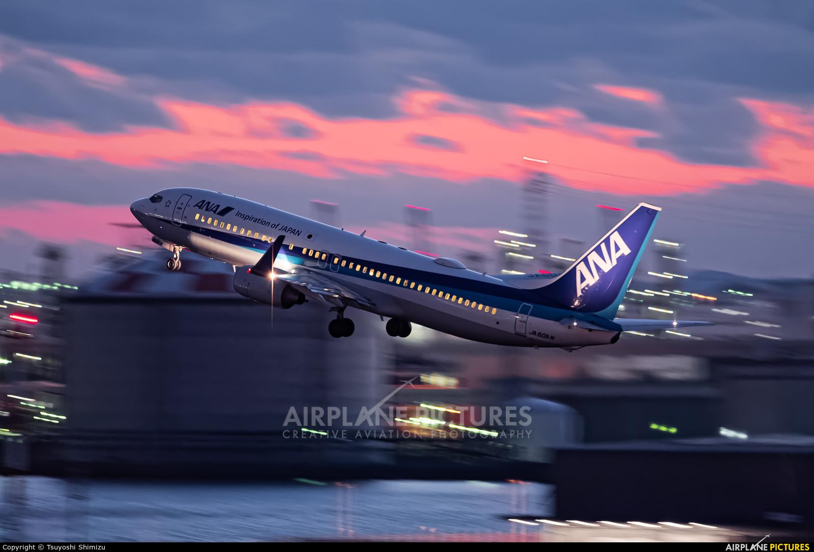 ANA - All Nippon Airways JA60AN aircraft at Tokyo - Haneda Intl