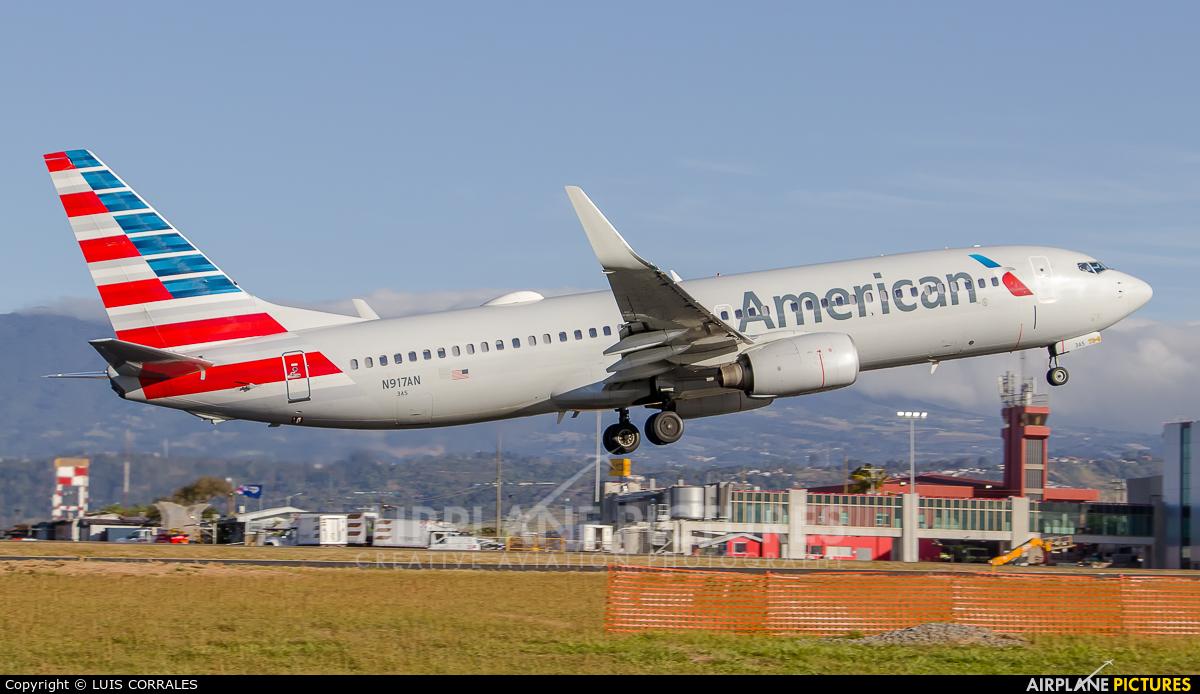 American Airlines N917AN aircraft at San Jose - Juan Santamaría Intl