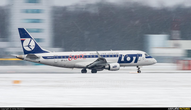 LOT - Polish Airlines SP-LII aircraft at Kraków - John Paul II Intl