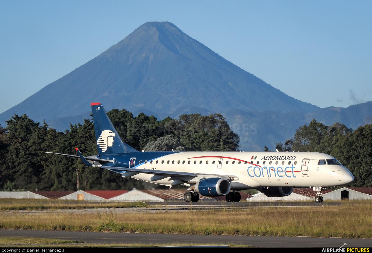 Aeromexico Connect XA-AEC aircraft at Guatemala - La Aurora