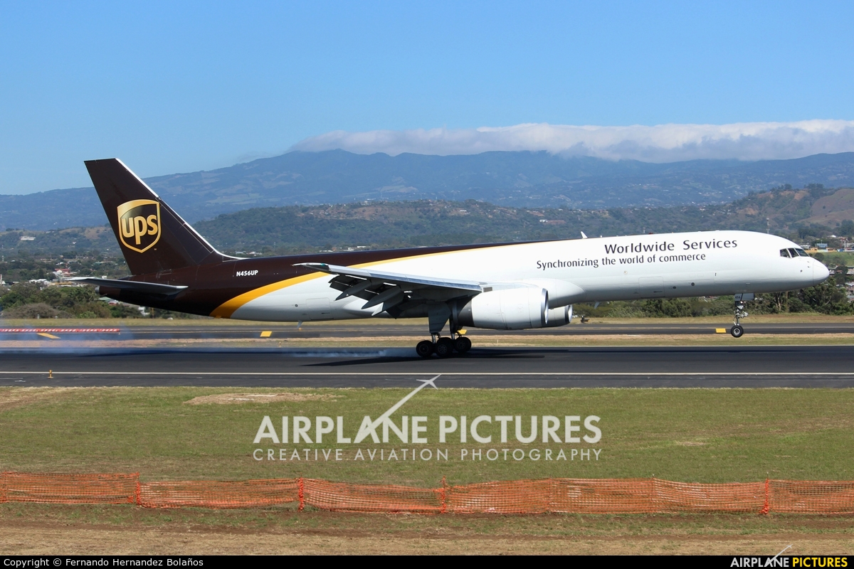 UPS - United Parcel Service N456UP aircraft at San Jose - Juan Santamaría Intl
