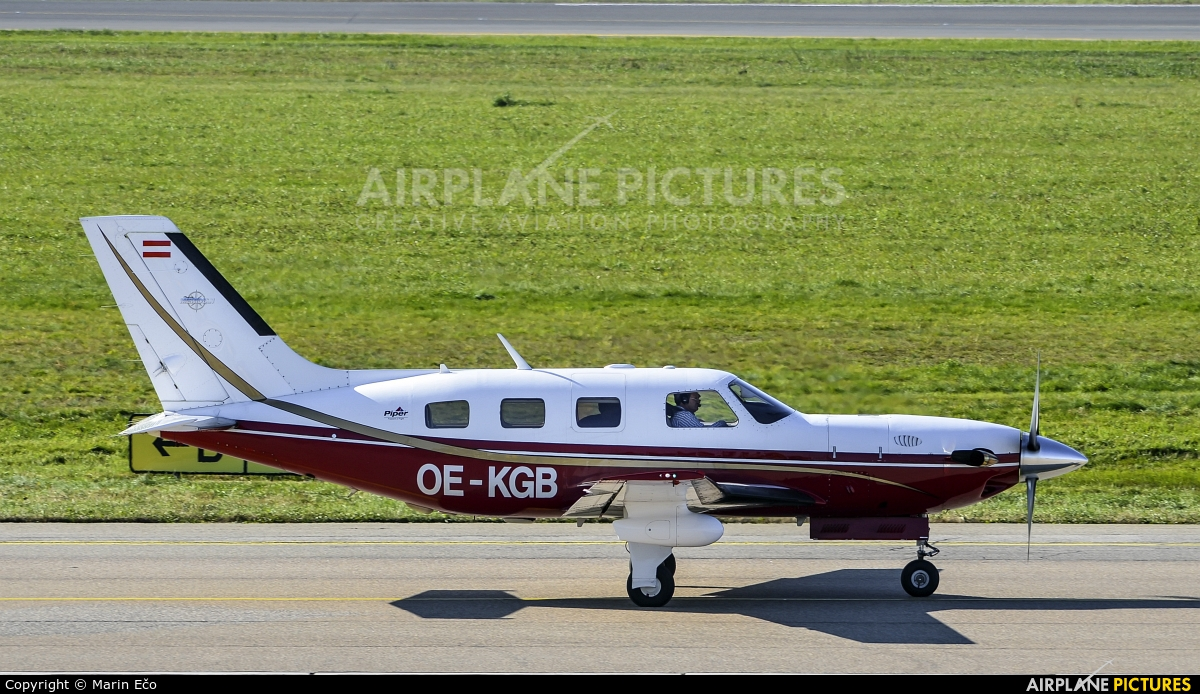 Private OE-KGB aircraft at Graz