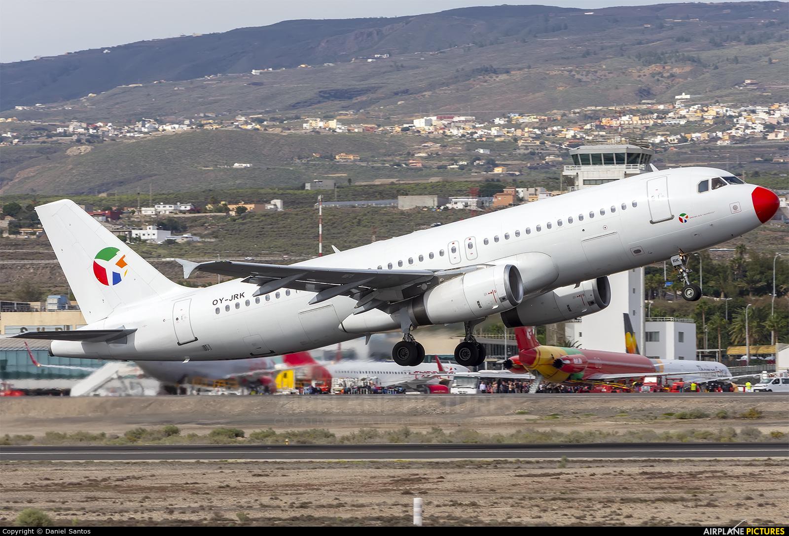 Danish Air Transport OY-JRK aircraft at Tenerife Sur - Reina Sofia