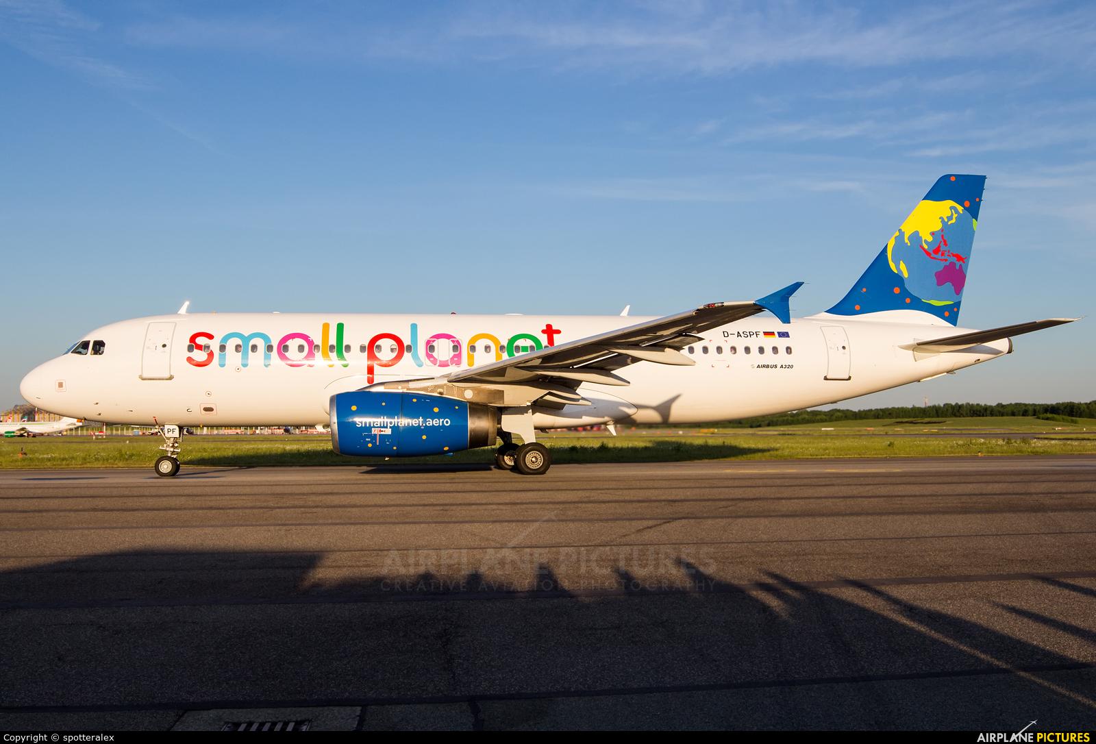 Small Planet Airlines D-ASPF aircraft at Hamburg - Fuhlsbüttel