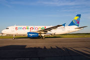 D-ASPF - Small Planet Airlines Airbus A320 aircraft