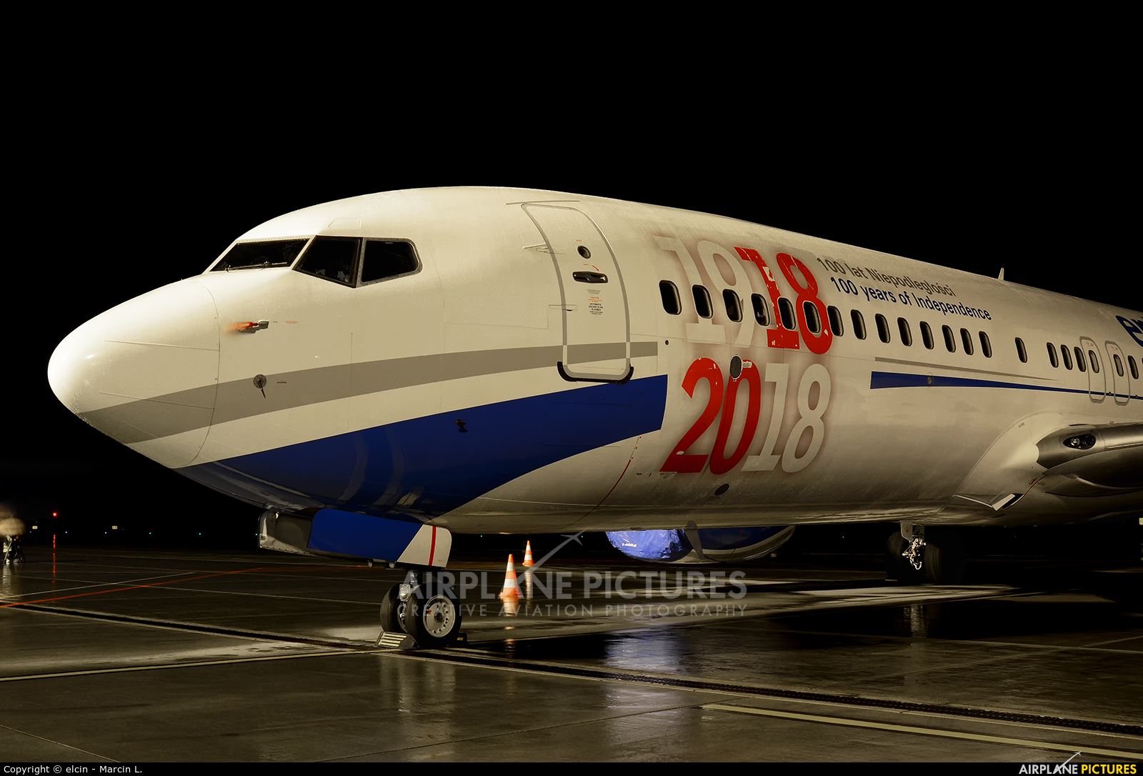 Enter Air SP-ENX aircraft at Wrocław - Copernicus