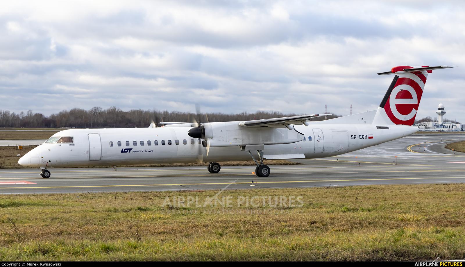 LOT - Polish Airlines SP-EQH aircraft at Warsaw - Frederic Chopin
