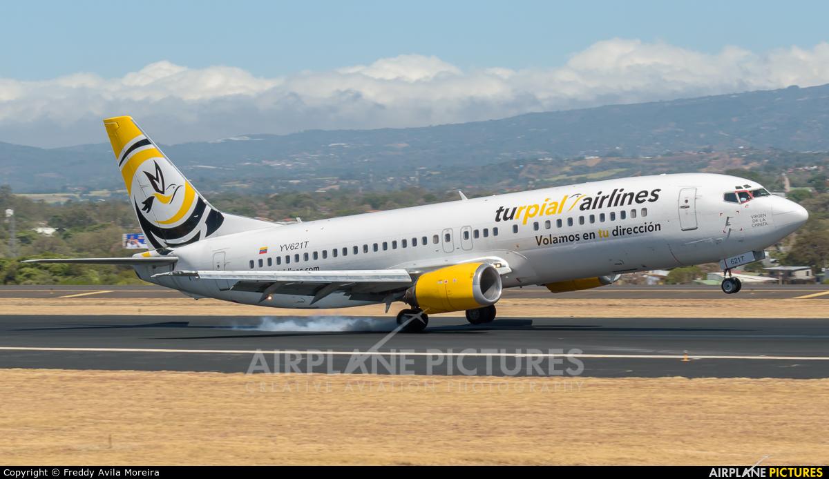 Turpial Airlines YV621T aircraft at San Jose - Juan Santamaría Intl