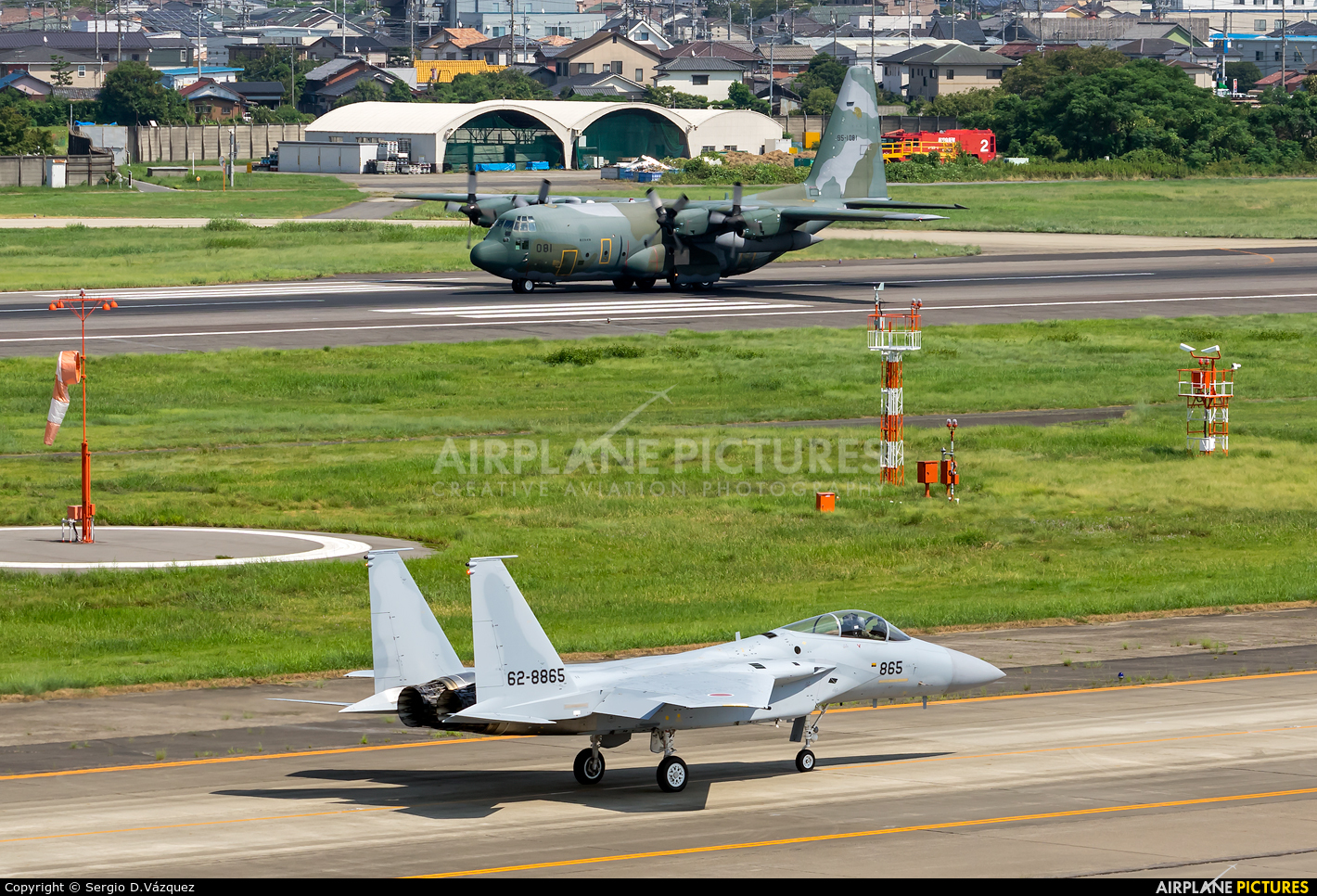 Japan - Air Self Defence Force 62-8865 aircraft at Nagoya - Komaki AB