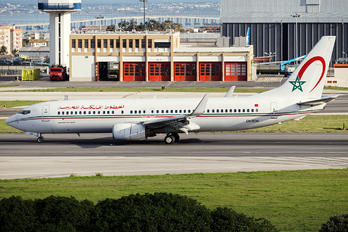 CN-ROH - Royal Air Maroc Boeing 737-800