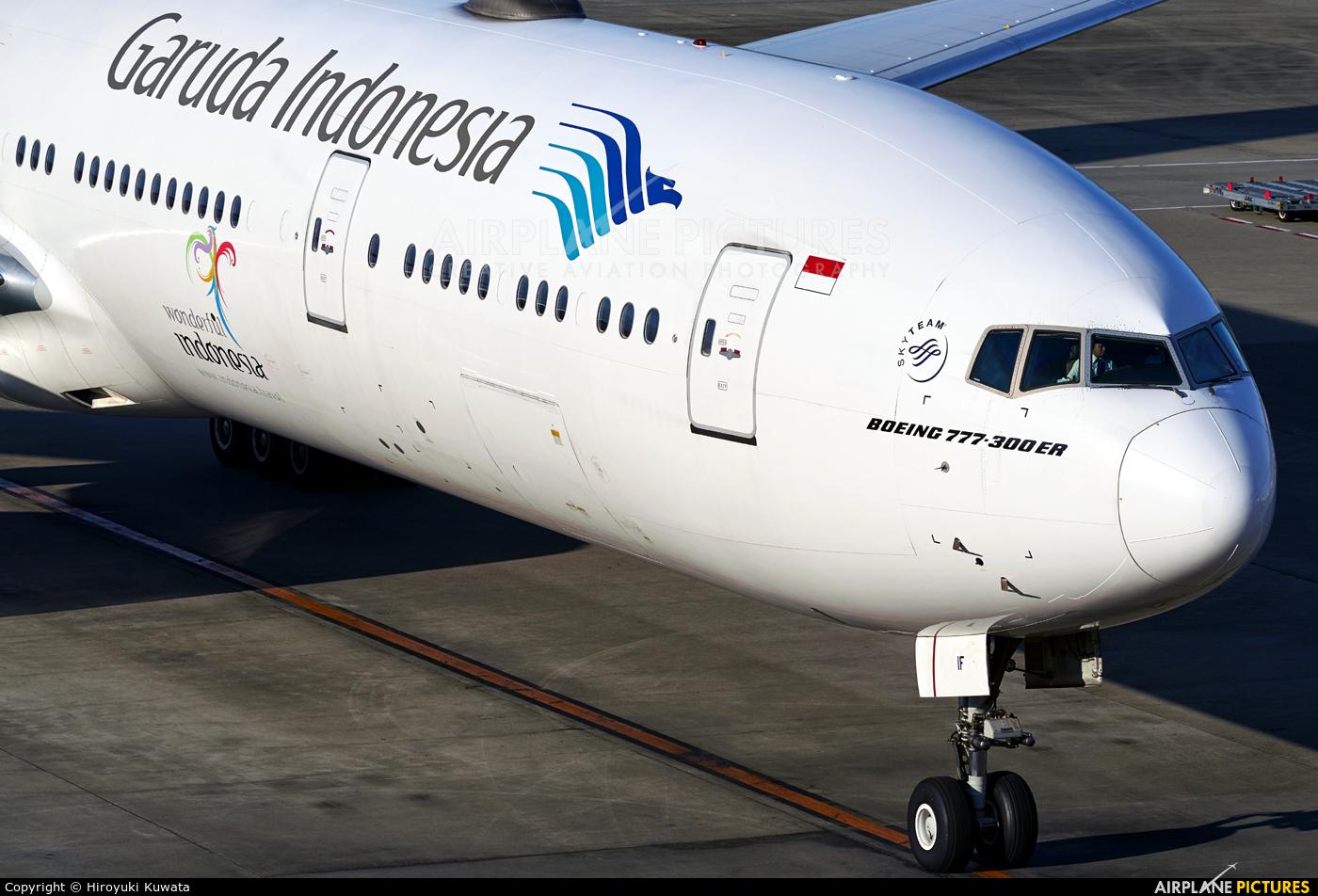 Garuda Indonesia PK-GIF aircraft at Tokyo - Narita Intl