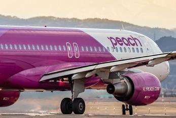 JA802P - Peach Aviation Airbus A320
