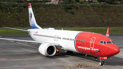SE-RTB - Norwegian Air Sweden Boeing 737-8 MAX