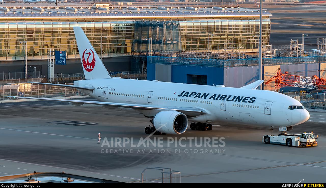JAL - Japan Airlines JA704J aircraft at Tokyo - Haneda Intl