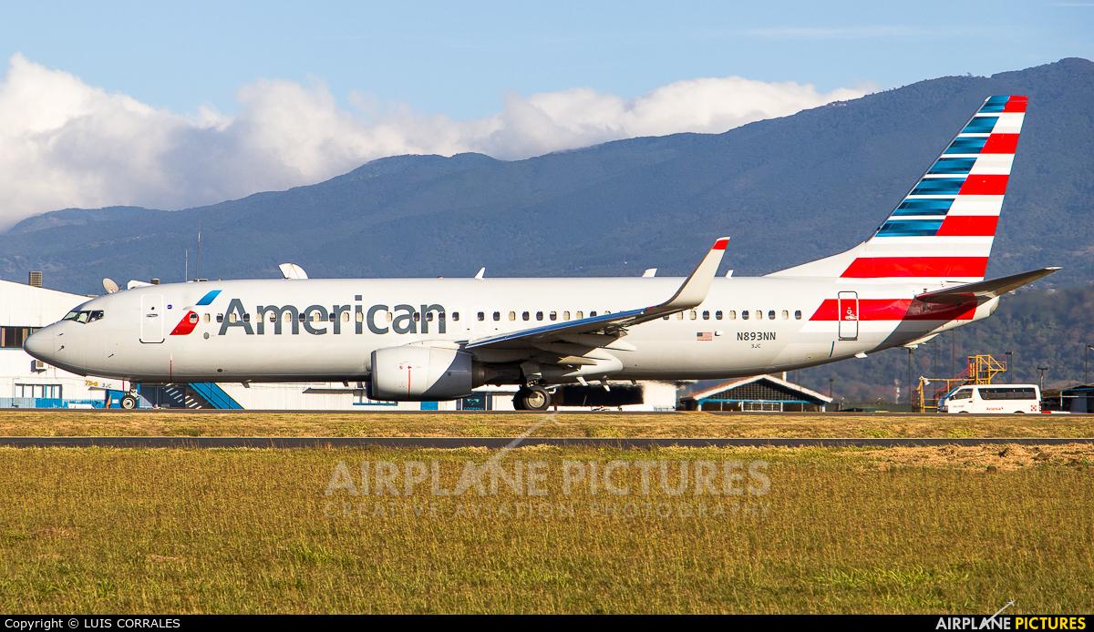 American Airlines N893NN aircraft at San Jose - Juan Santamaría Intl
