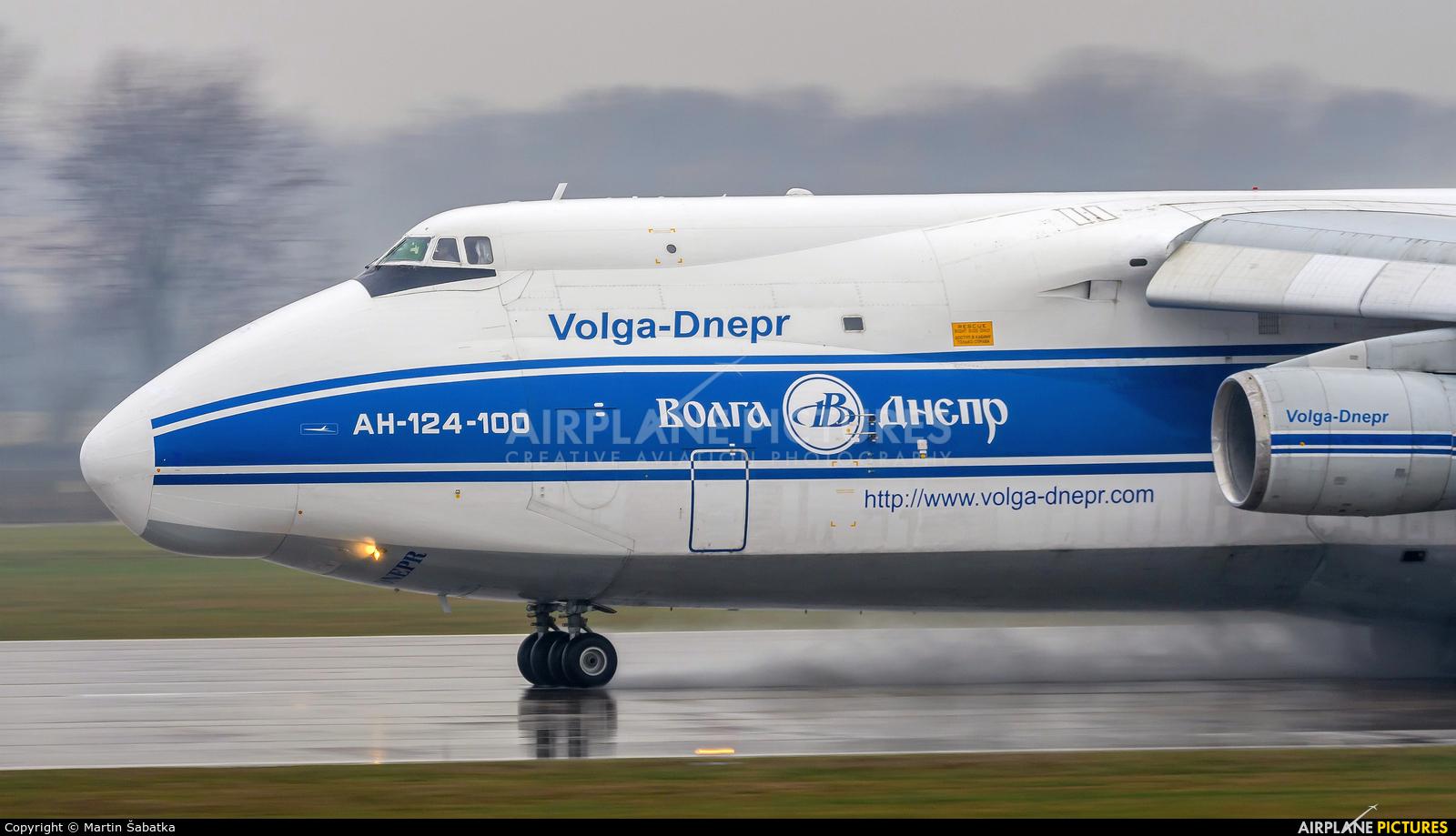 Volga Dnepr Airlines RA-82046 aircraft at Pardubice
