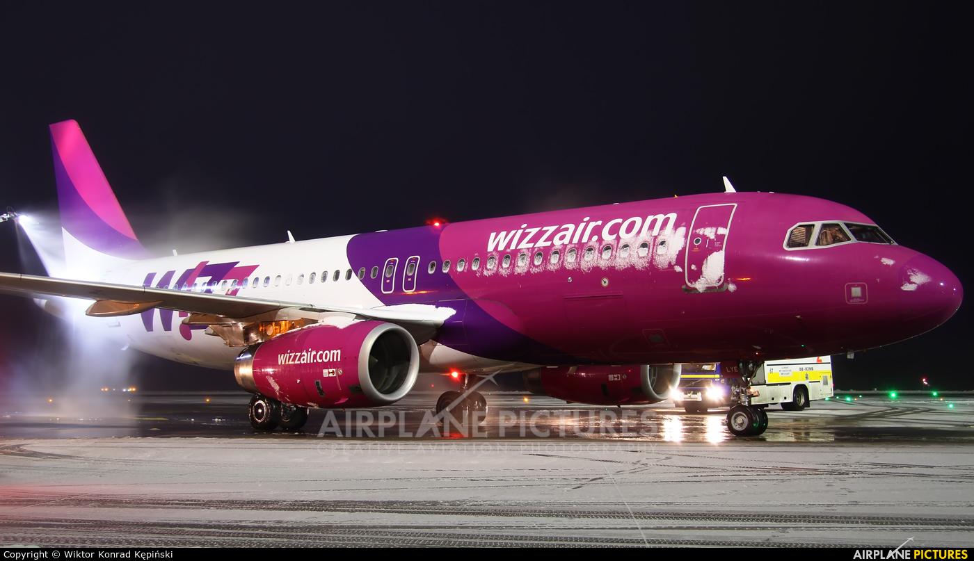 Wizz Air HA-LYE aircraft at Katowice - Pyrzowice