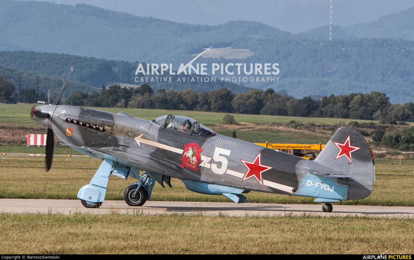 Private D-FYGJ aircraft at Sliač