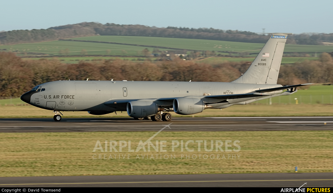 USA - Air Force 58-0089 aircraft at Prestwick