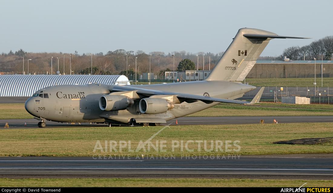 Canada - Air Force 177705 aircraft at Prestwick