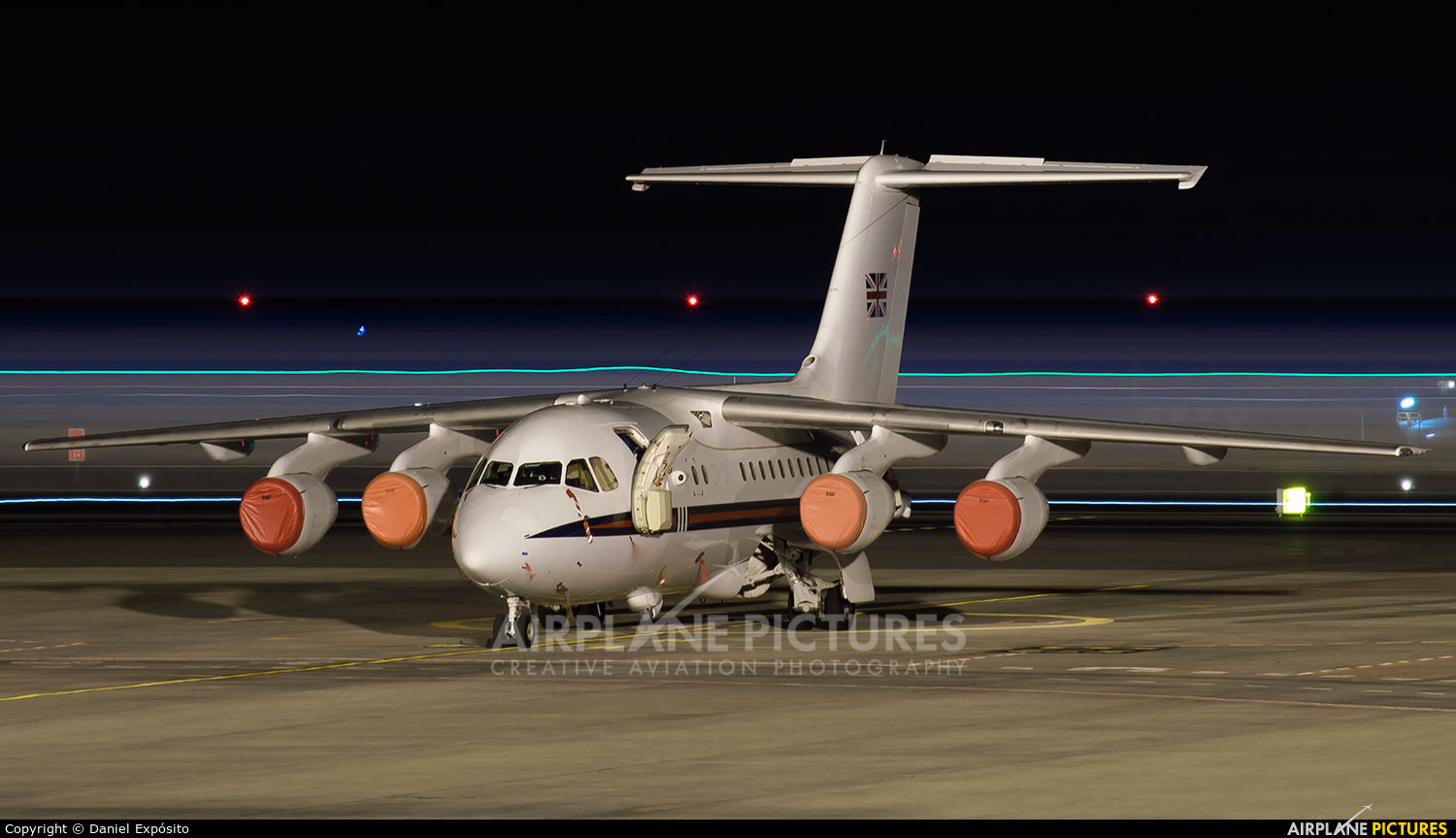Royal Air Force ZE700 aircraft at Tenerife Sur - Reina Sofia