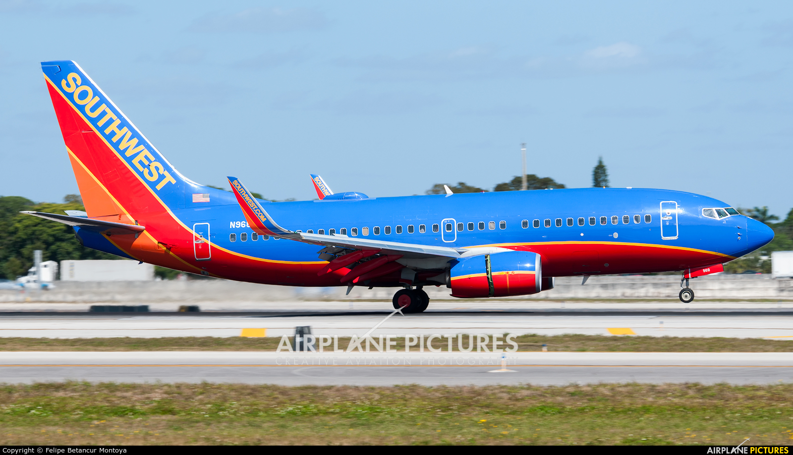 Southwest Airlines N968WN aircraft at Fort Lauderdale - Hollywood Intl