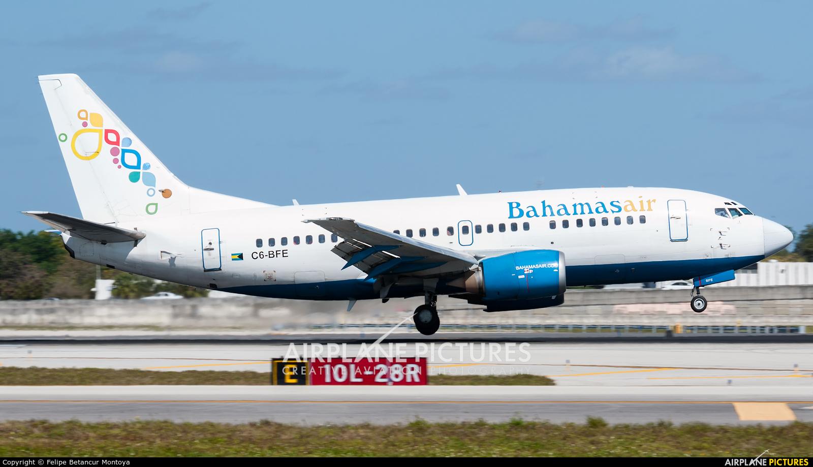 Bahamasair C6-BFE aircraft at Fort Lauderdale - Hollywood Intl