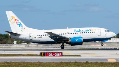 C6-BFE - Bahamasair Boeing 737-500
