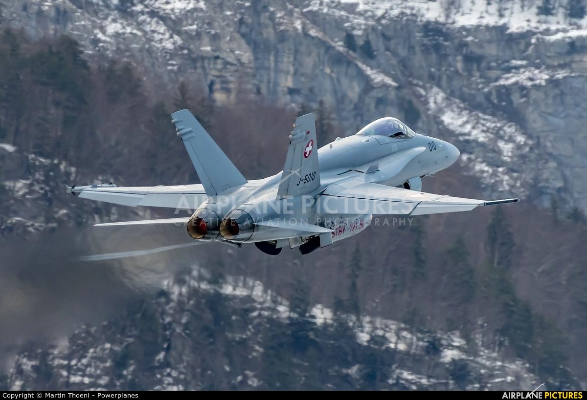 Switzerland - Air Force J-5010 aircraft at Meiringen