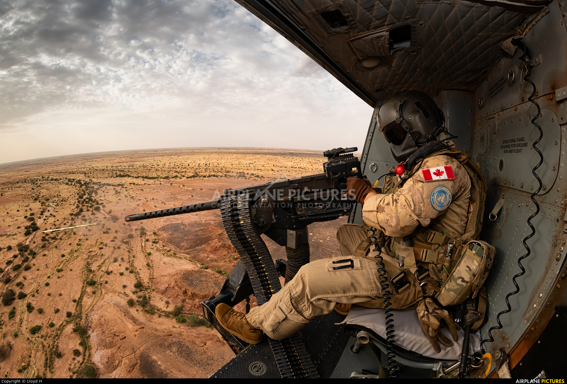 Canada - Air Force 146478 aircraft at In Flight - Mali