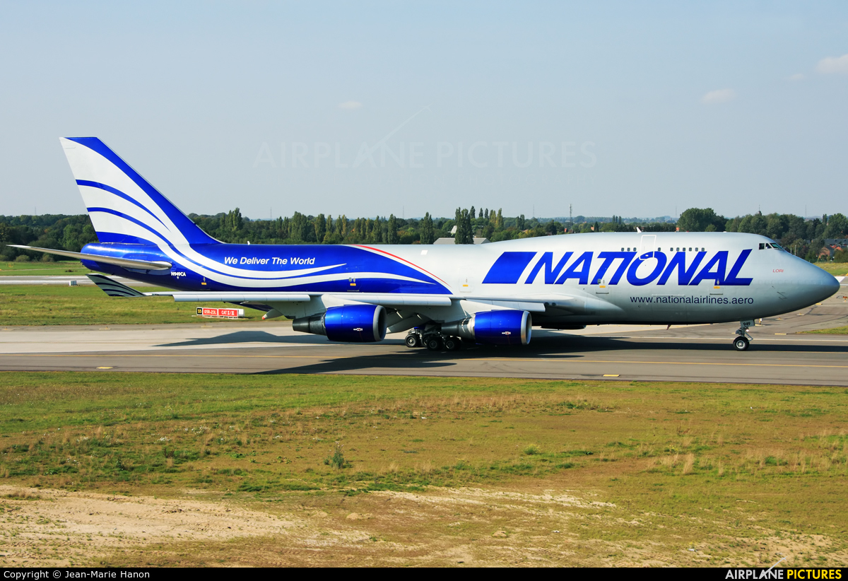 National Airlines N949CA aircraft at Liège-Bierset