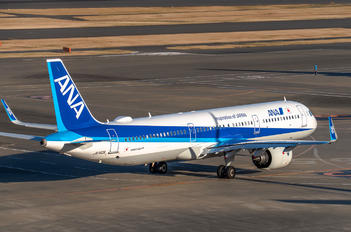 JA140A - ANA - All Nippon Airways Airbus A321 NEO
