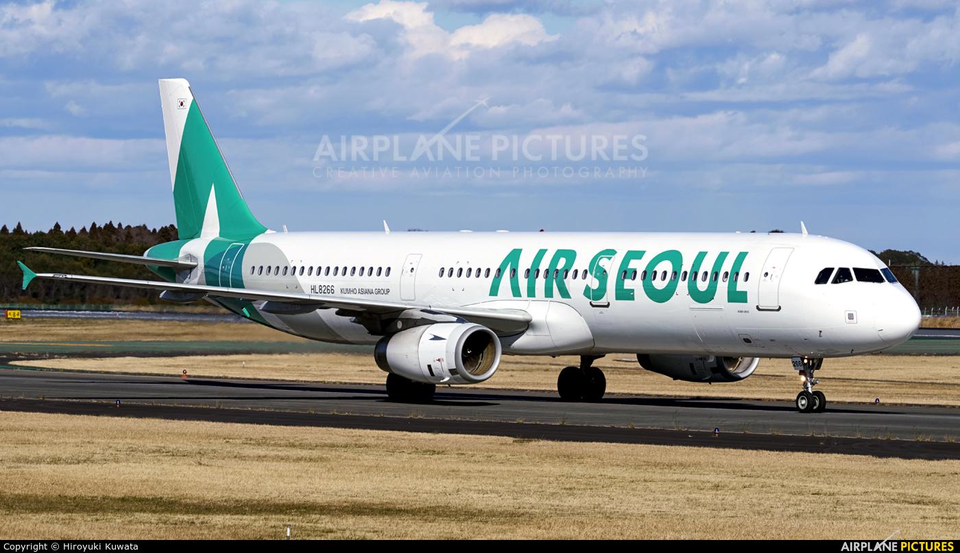 Air SEOUL HL8266 aircraft at Tokyo - Narita Intl