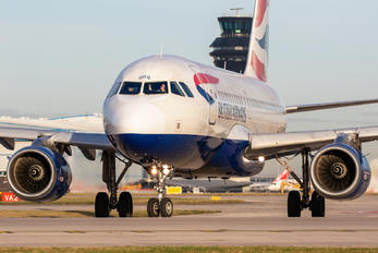G-EUOG - British Airways Airbus A319