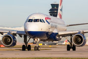 G-EUOG - British Airways Airbus A319 aircraft