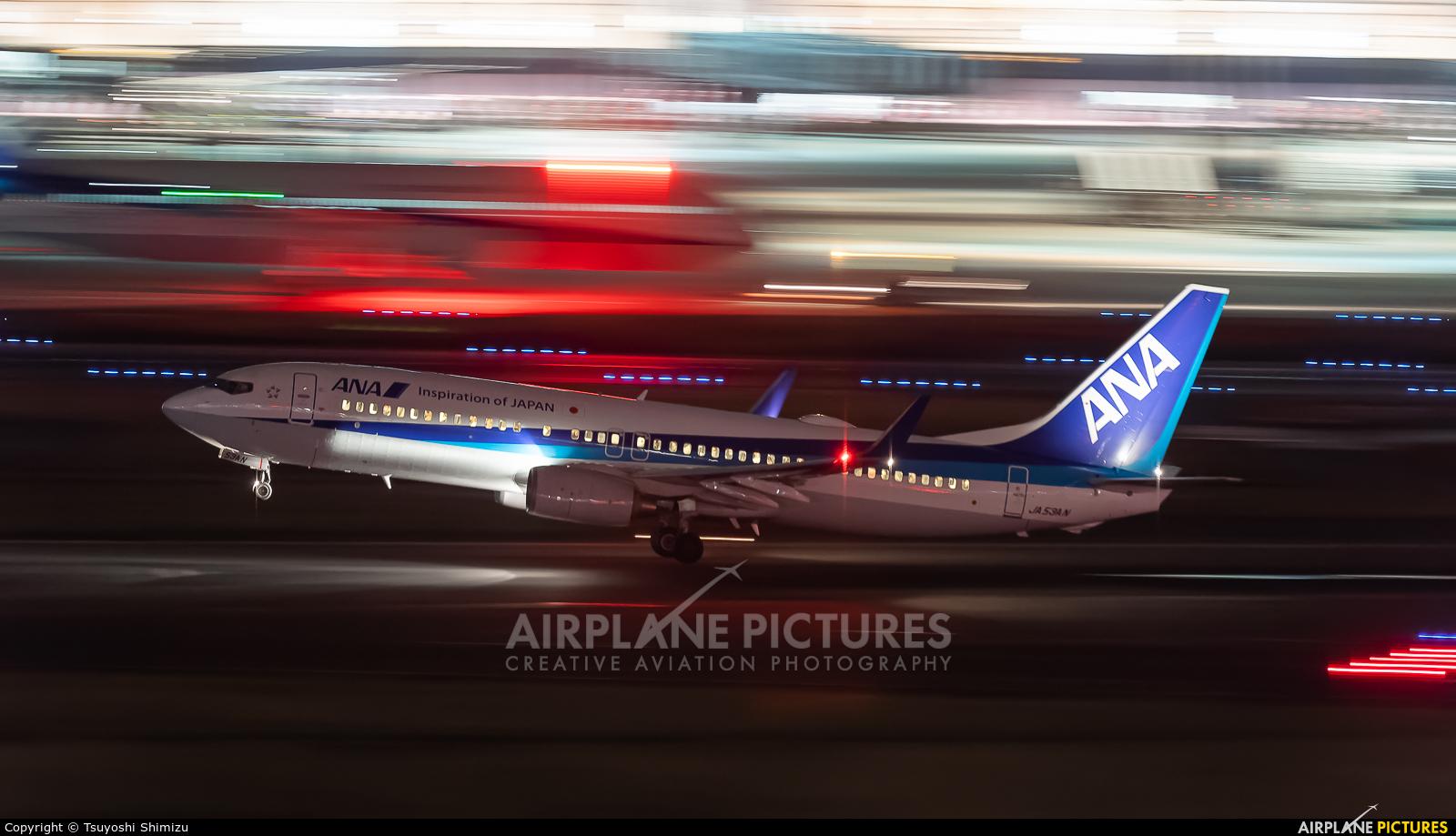 ANA - All Nippon Airways JA53AN aircraft at Tokyo - Haneda Intl