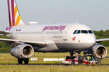 D-AGWM - Germanwings Airbus A319