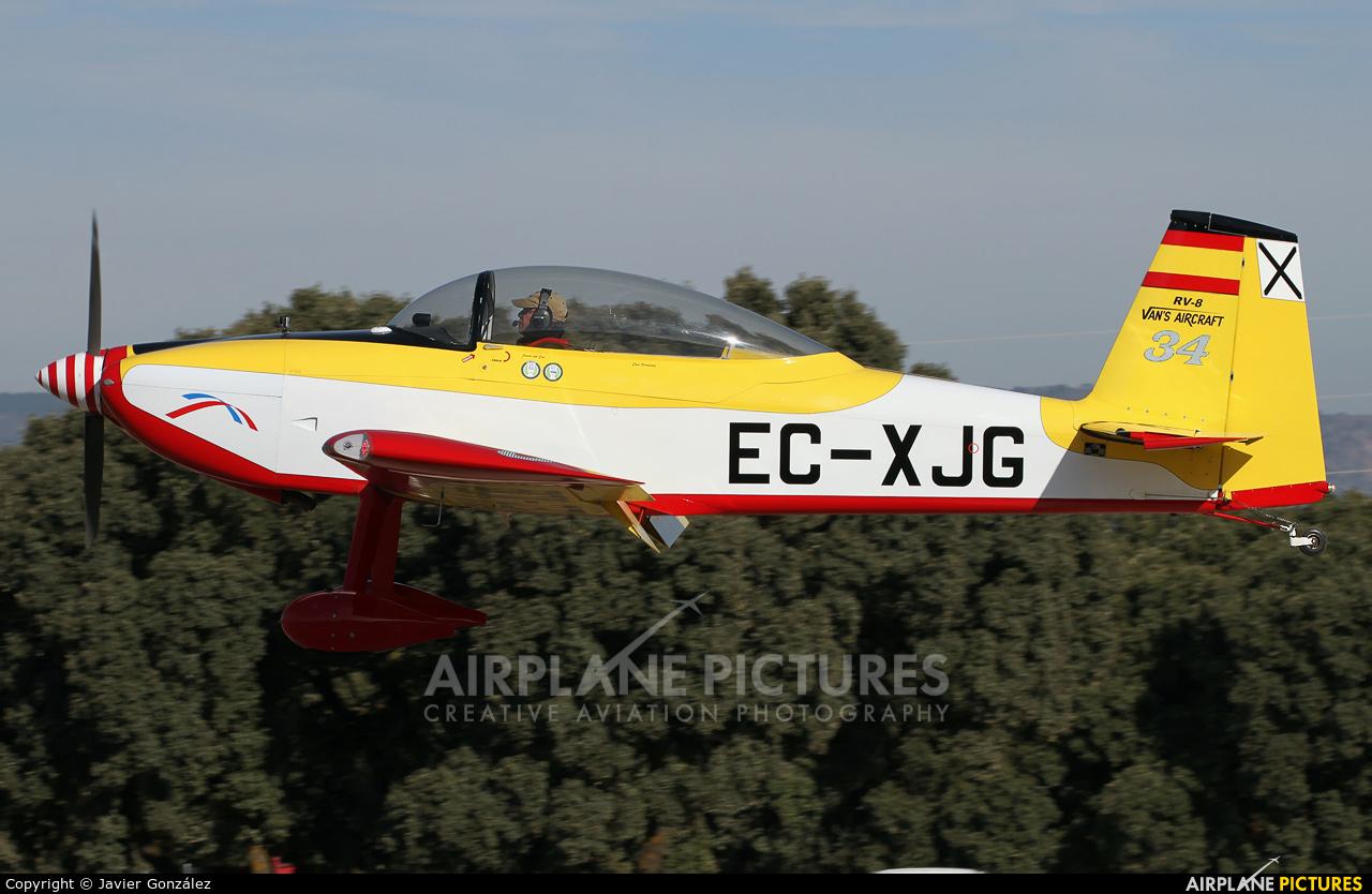 Private EC-XJG aircraft at Aeródromo de Beas de Segura