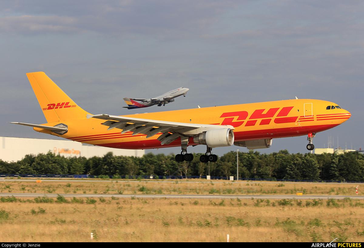 DHL Cargo D-AEAI aircraft at Frankfurt