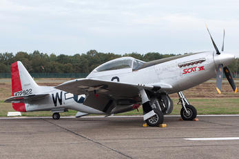 OO-RYL - Private North American F-51D Mustang