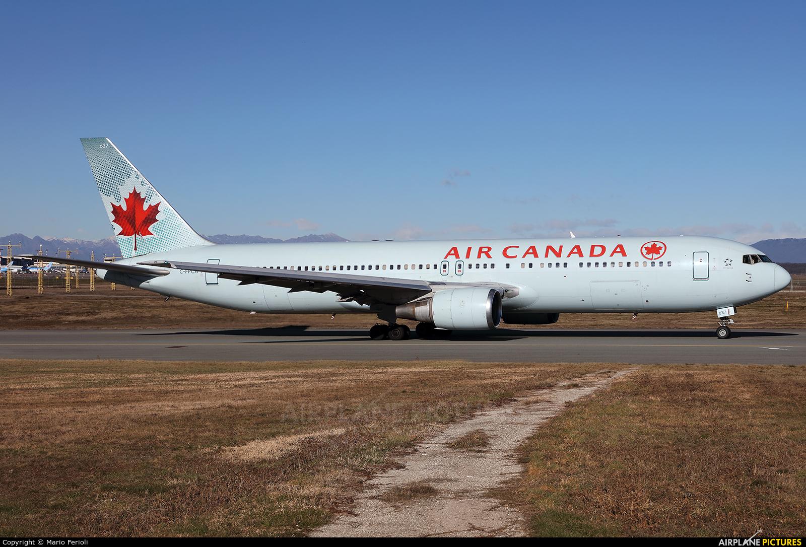 Air Canada C-FPCA aircraft at Milan - Malpensa