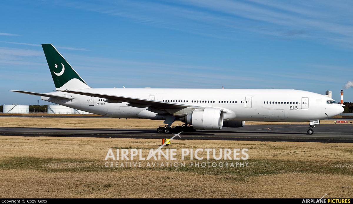 PIA - Pakistan International Airlines AP-BMH aircraft at Tokyo - Narita Intl