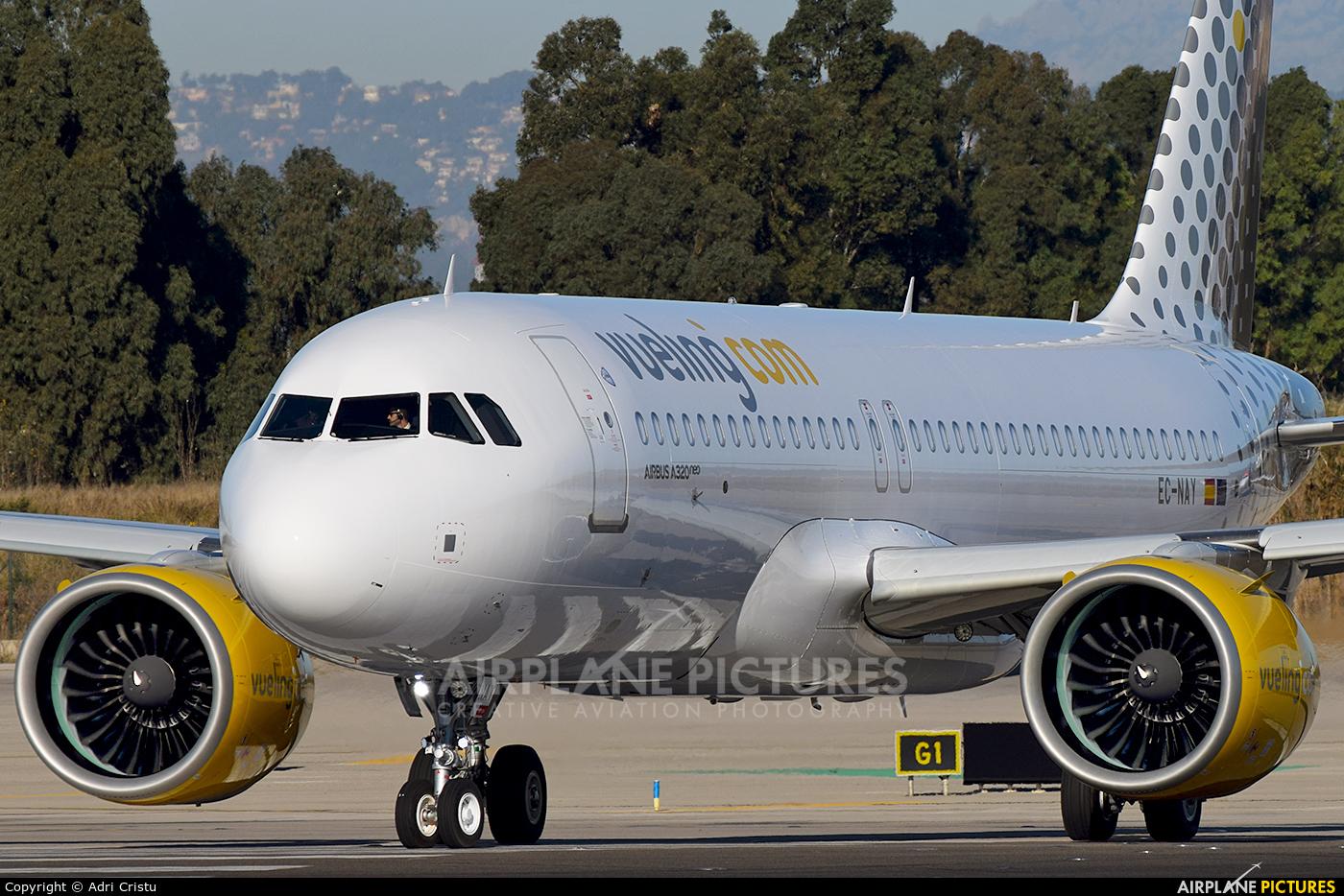 Vueling Airlines EC-NAY aircraft at Barcelona - El Prat