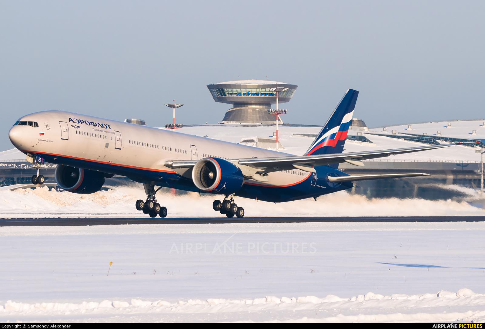 Aeroflot VP-BGD aircraft at Moscow - Vnukovo
