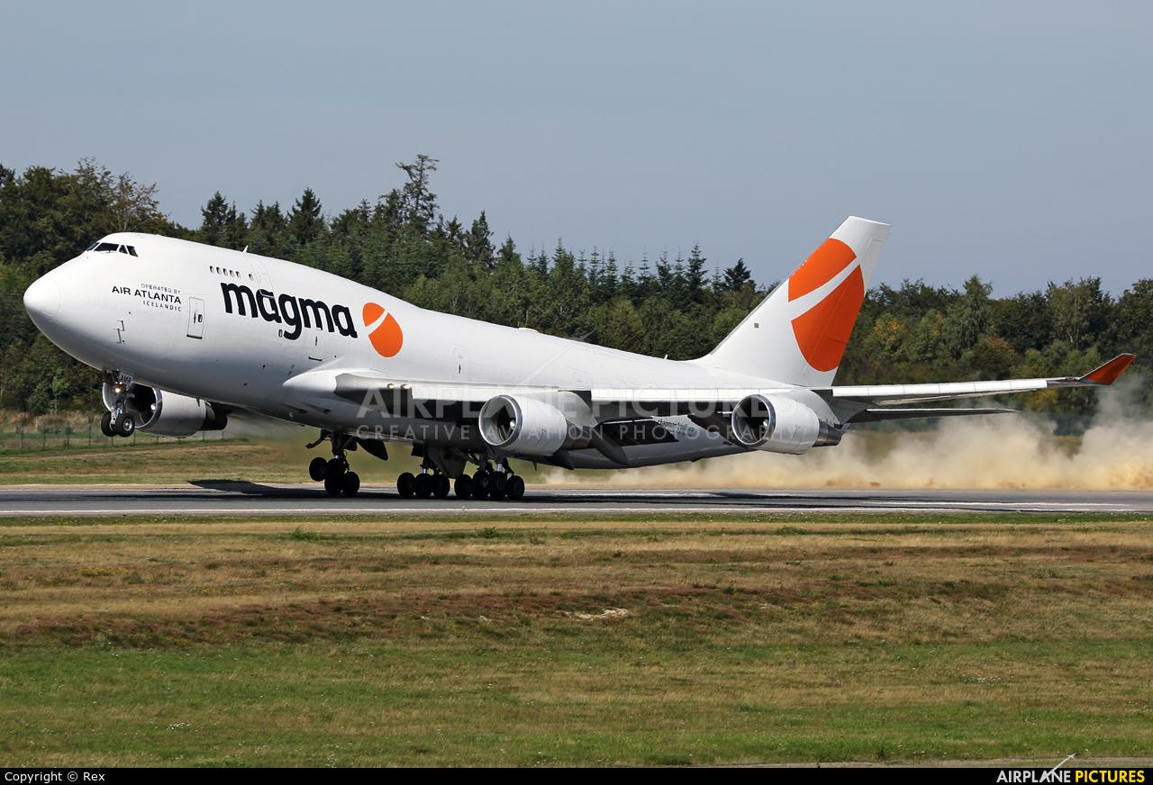 Magma Aviation TF-AMR aircraft at Frankfurt - Hahn
