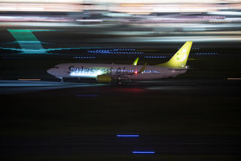 JA813X - Solaseed Air - Skynet Asia Airways Boeing 737-800