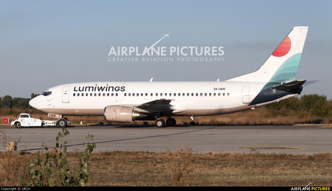 Lumiwings SX-LWB aircraft at Craiova